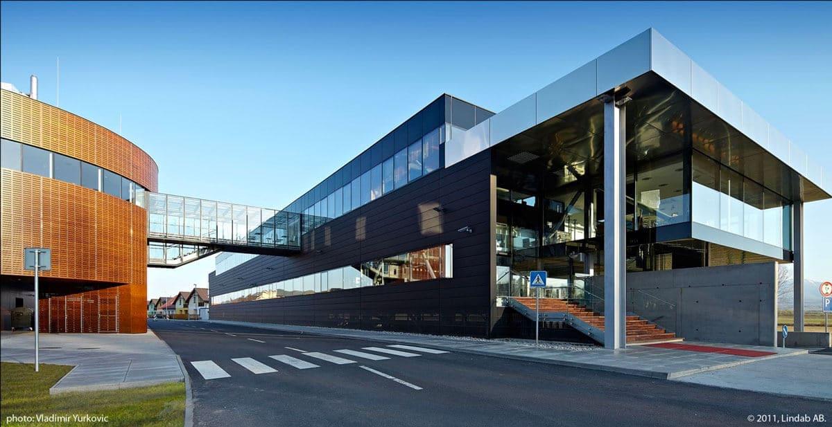 Nancy Construction - Construction d'un bâtiment tertiaire à ossature métallique
